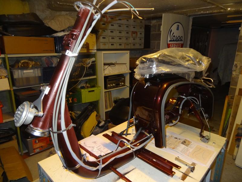 Lambretta SX200 replica project - Page 2 Dsc06125