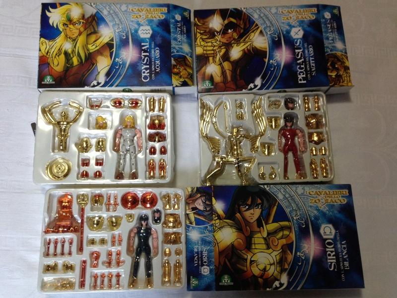 zodiaco - Saint Seiya Cavalieri dello zodiaco giochi preziosi 3 bronze gold Img_6921
