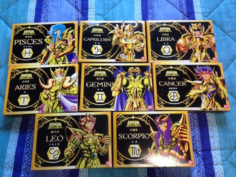 Saint Seiya cavalieri dello zodiaco gold + silver + appendix Img_7035