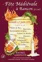 Fête Médiévale de Rancon Affich11