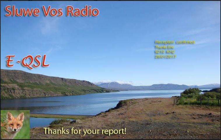 eQSL de Sluwe Vos Radio Sluwe10