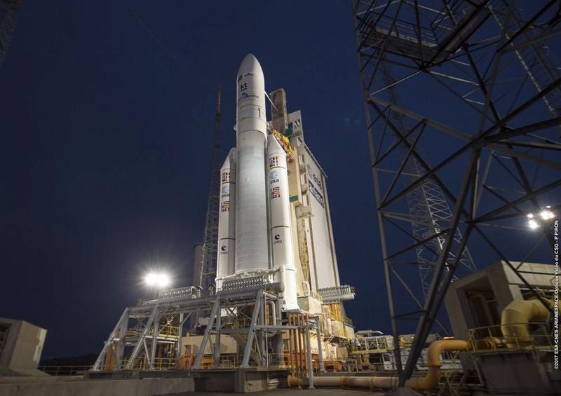 Ariane 5 VA236 (SGDC & Koreasat 7) - 04.05.2017 - Page 11 1117