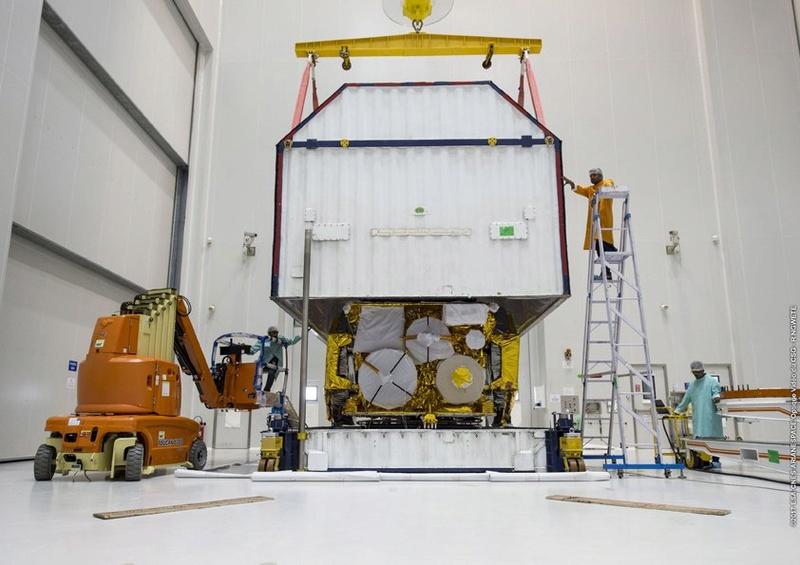 Ariane 5 VA238 (Hellas-Sat 3 / GSAT 17) - 28.06.2017  [Succès] 1133