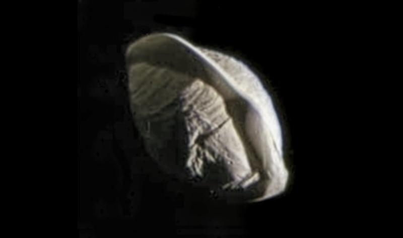 "Mission Cassini, phase ""Ring-Grazing Orbits"" (30.11.2016 - 15.9.2017) 134"