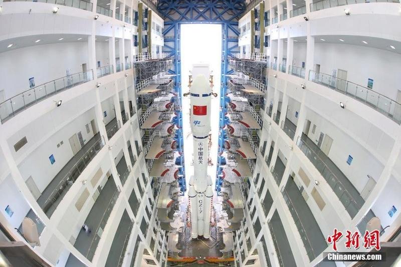 CZ-7 Y2 (Tianzhou-1) - 20.4.2017 179