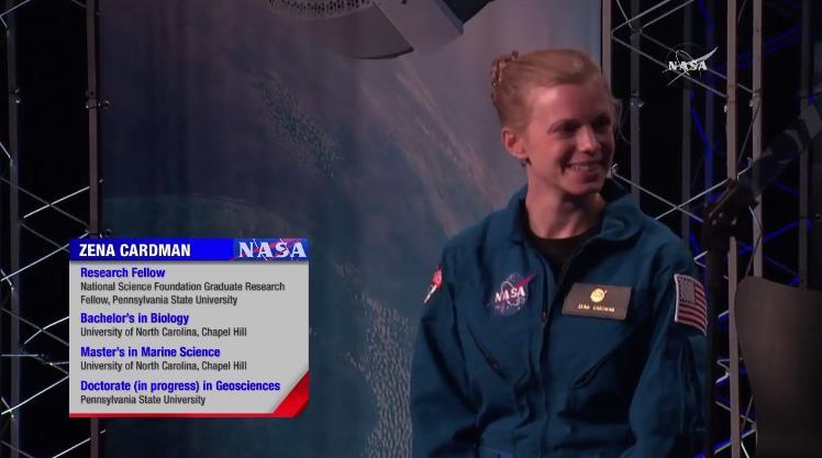 Groupe d'astronautes NASA n°22 (2017) Scree213
