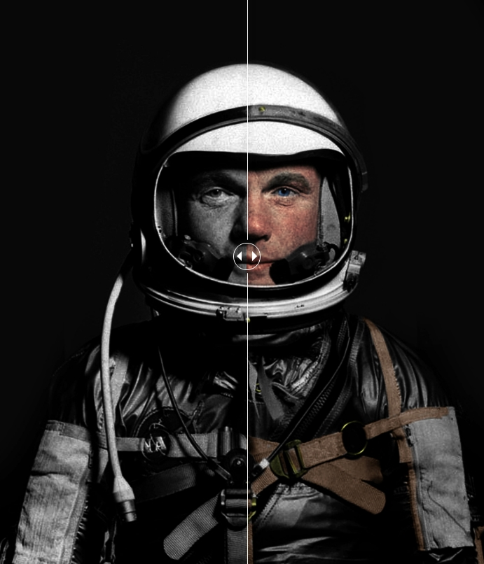 Des photos d'époque de la NASA colorisées Screen58