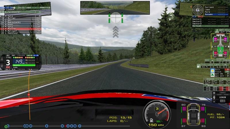 rFactor Ultimate GT3 mirror bug Grab_011
