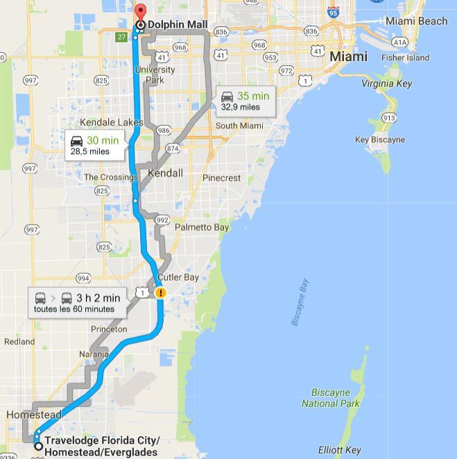 TR Honeymoon in Florida novembre 2016 (WDW-SW-DC-KSC-USF-NBA-Miami-Everglades-Keys) (dernière MàJ: 09/04/2017) Terminé - Page 10 Routev14