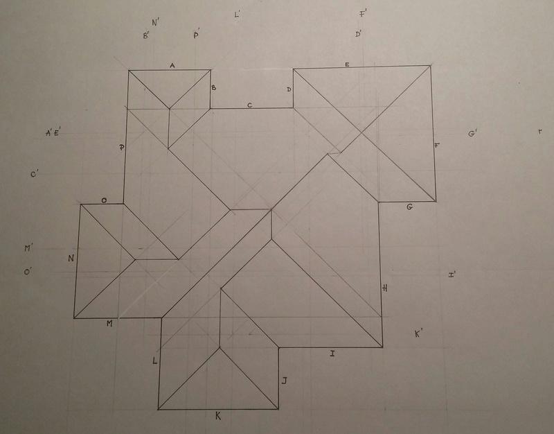 Exo Muller tâche K : corps de toit avec plusieurs annexes 20170419
