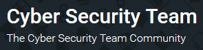 Cyber Security Team Forum