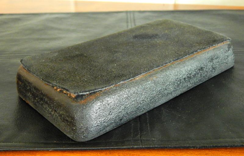 Mysterious Mid-Century Pottery Tray Dscn1312