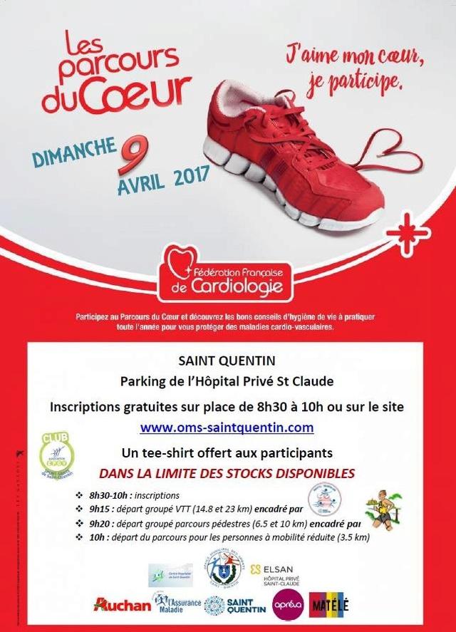9 avril 2017 les parcours du coeur vtt et marche 17191210