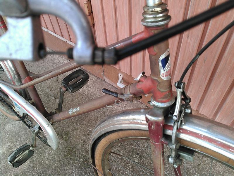 vélo peugeot dame 1952 rétropédallage et moyeu à vitesses torpédo Kimg0025