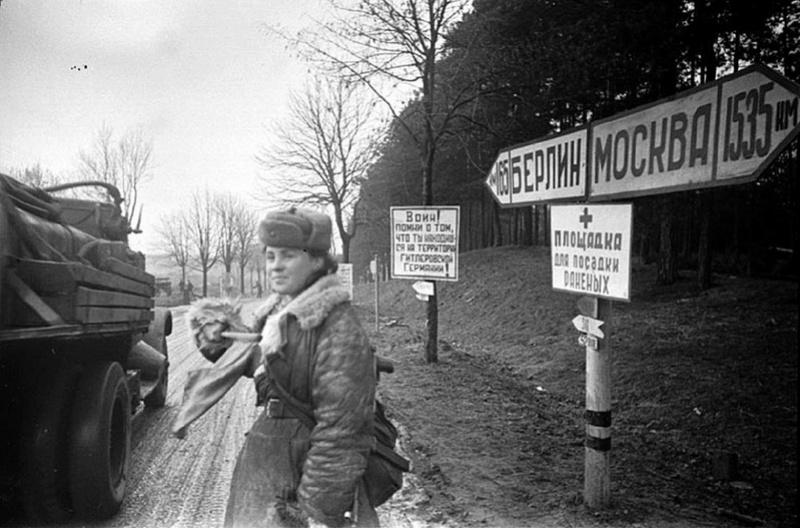 Soldate soviétique à Berlin , fin mai 1945 93908310