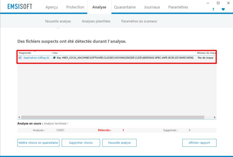 test et présentation Emsisoft Anti-Malware Emisof12