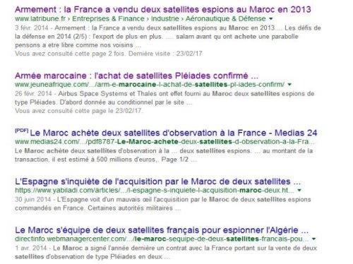 Des satellites espions Marocains investissent l'espace Captur10
