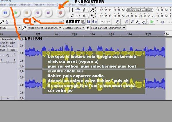 Enregistrez Google traducteur en Audio   ترجمة النص بواسطة جوجل وتسجيله كصوت Mimoun22