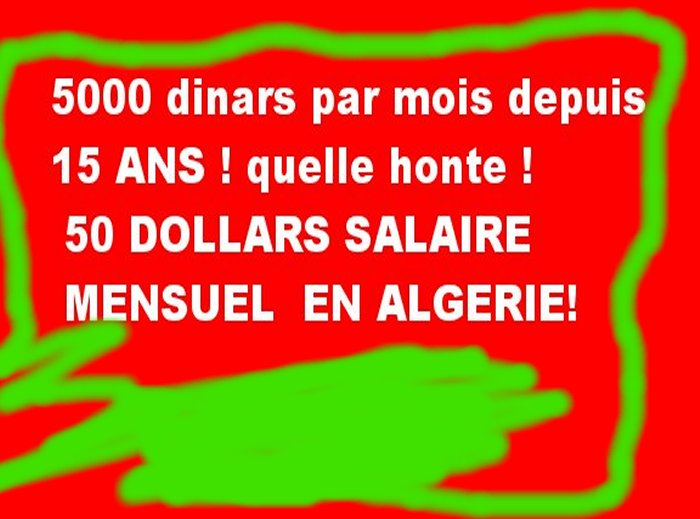 9 millions d'Algeriens vivent au pain nu ! تسعة مليون جزائري يكتفون بالخبز والماء Zz510
