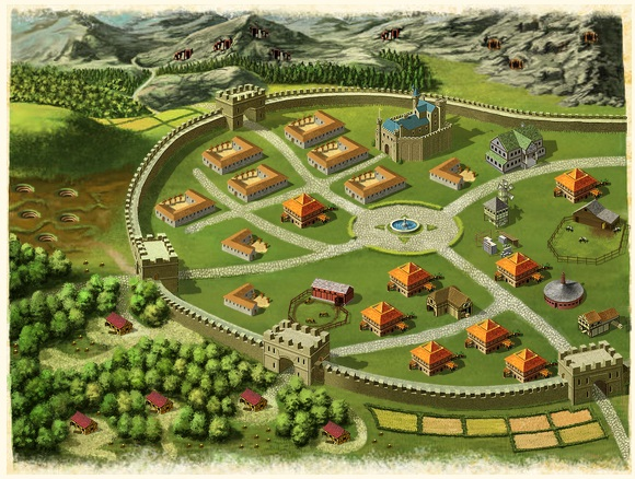 Advanced City Building - 40k+ Population City City_v10