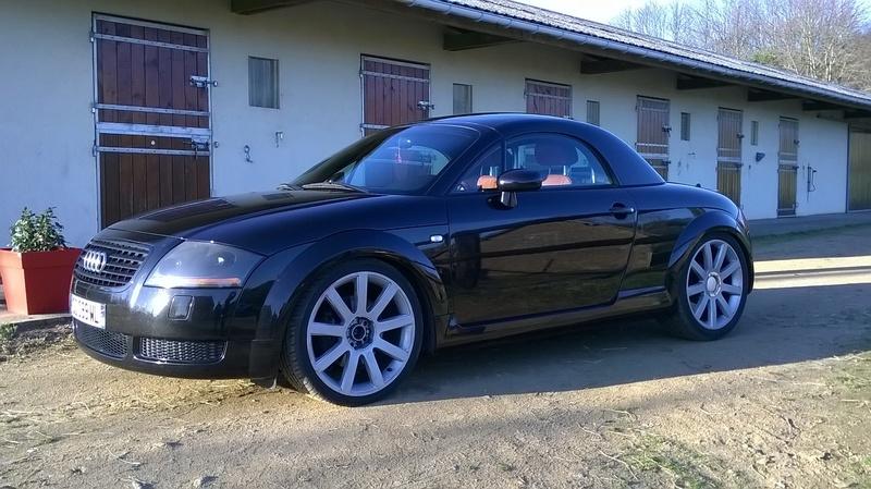 Apres bien des attentes voila la belle !! TT roadster  Wp_20111