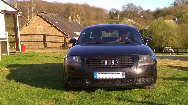 Apres bien des attentes voila la belle !! TT roadster  Wp_20114