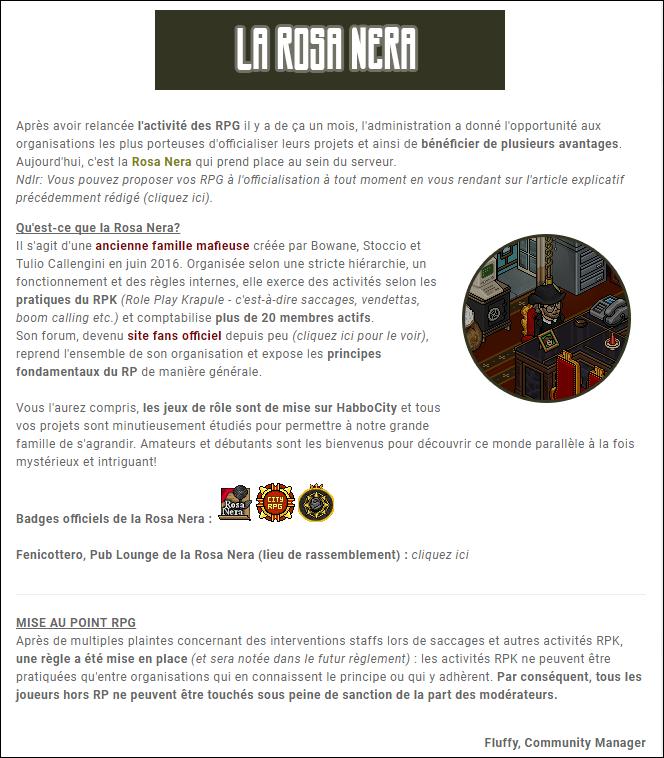 Officialisation de la Rosa Nera. Annone10