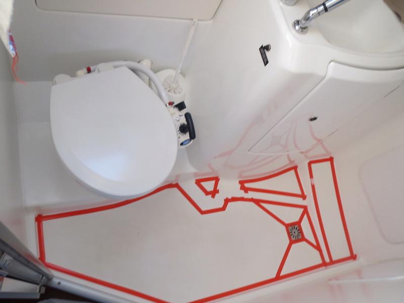 peinture bac à douche salle d'eau Img_1518