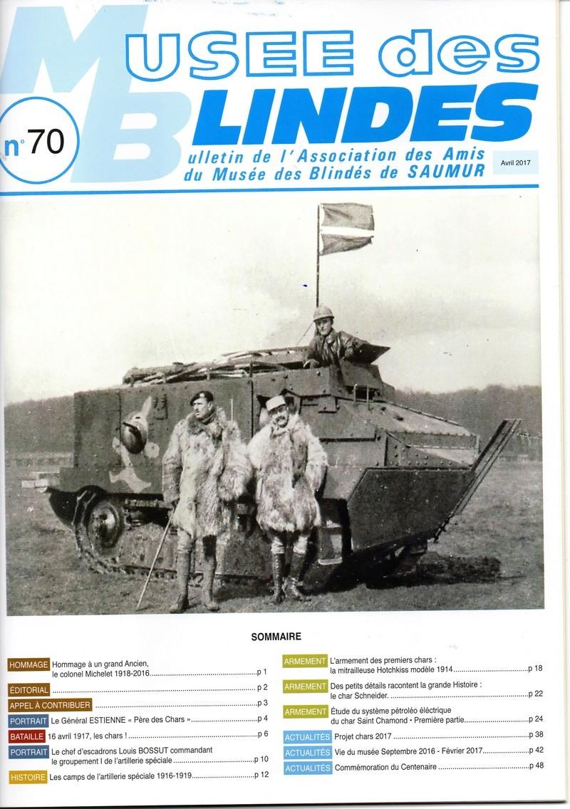MUSEE des BLINDES Bulletin de l'Association des Amis du Musée des Blindés de Saumur   N° 70 Img20610