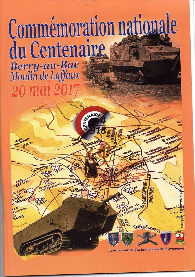 Commémoration nationale du Centenaire à Berry-au-Bac Moulin de LAFFAUX le 20 mai 2017 ( Horaires indicatifs) Img20710