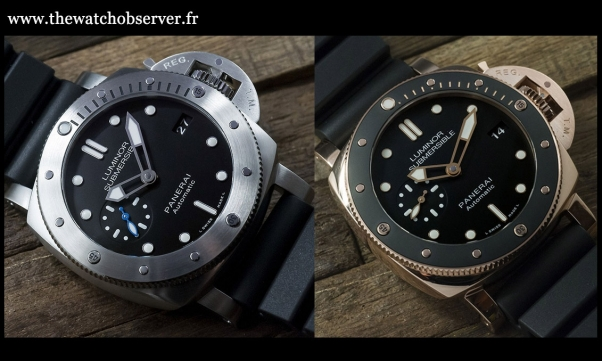 panerai - Nouveauté : Panerai Luminor Submersible 1950 BMG-Tech 602x4410