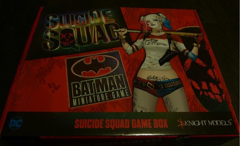 présentation - présentation du jeu batman miniature et Open box du Suicide Squad 110