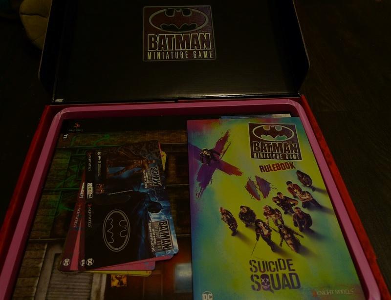 présentation - présentation du jeu batman miniature et Open box du Suicide Squad 210