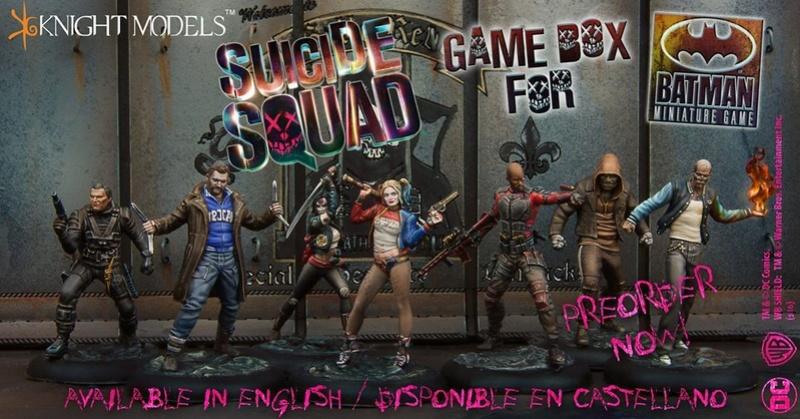 présentation - présentation du jeu batman miniature et Open box du Suicide Squad Suicid10