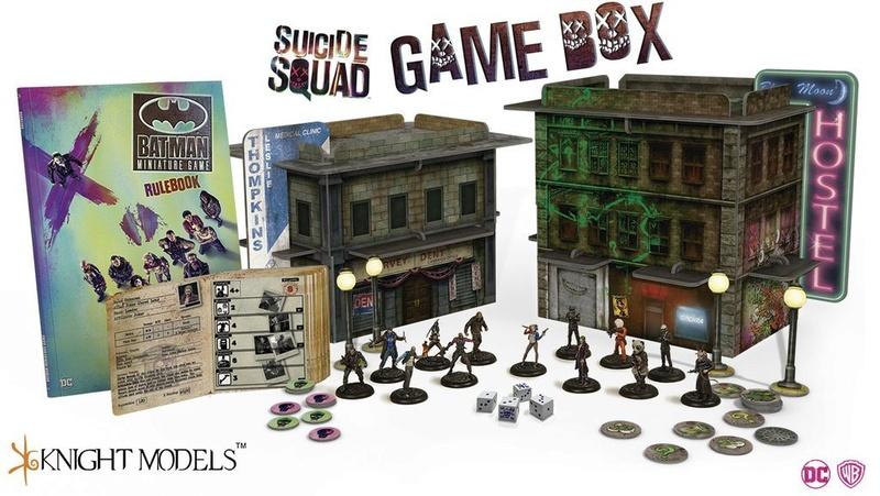 présentation - présentation du jeu batman miniature et Open box du Suicide Squad Vue_fu10