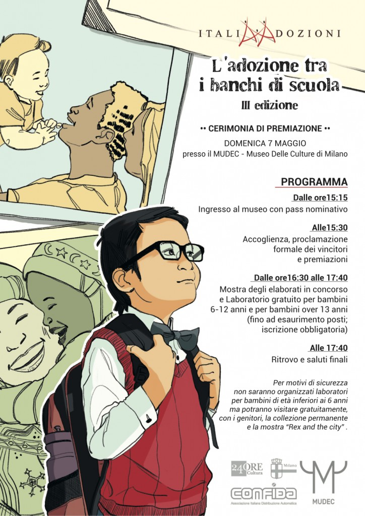 L'adozione fra i banchi di scuola- MUDEC 7 maggio 2017 Locand11