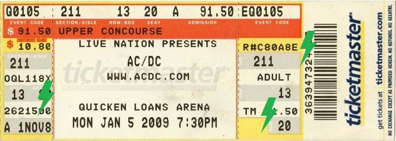 2009 / 01 / 05 - USA, Cleveland, Quicken Loans Arena 05_01_10