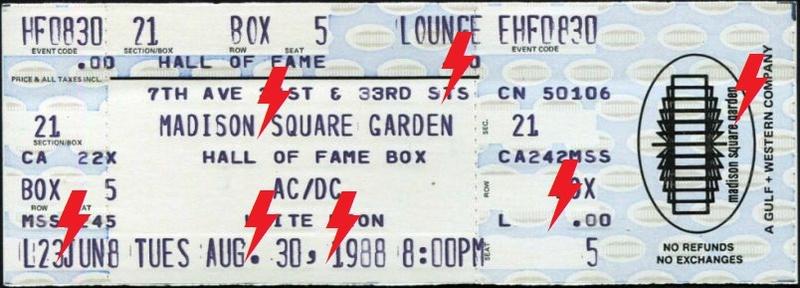 1988 / 08 / 30 - USA, New-York, Madison Square Garden 30_08_10
