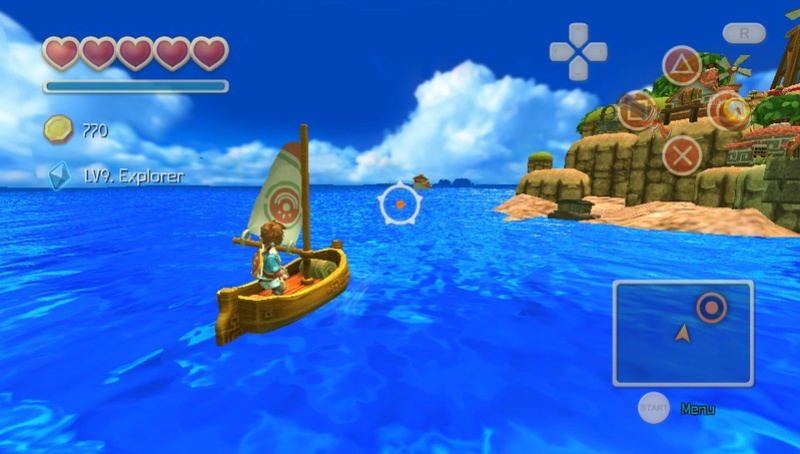 Review: Oceanhorn (Vita PSN) 2017-010