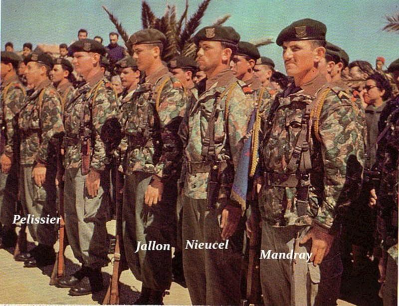 Commando Trepel Algerie 1961 10706510