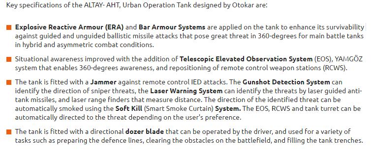 تعرف على نسخه حرب المدن من الدبابه ALTAY : الدبابه ALTAY-AHT التركيه  Altay_10
