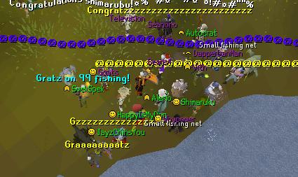 ><> 99 fishing! 0310