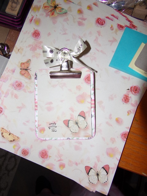 TUTORIAL FOR CHIPBOARD CLIPBOARD SWAP -  You can make your own ! 101_4524