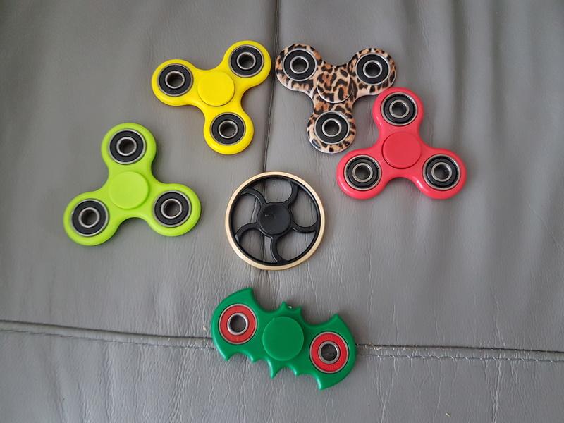 Fidget spinners....... 20170517