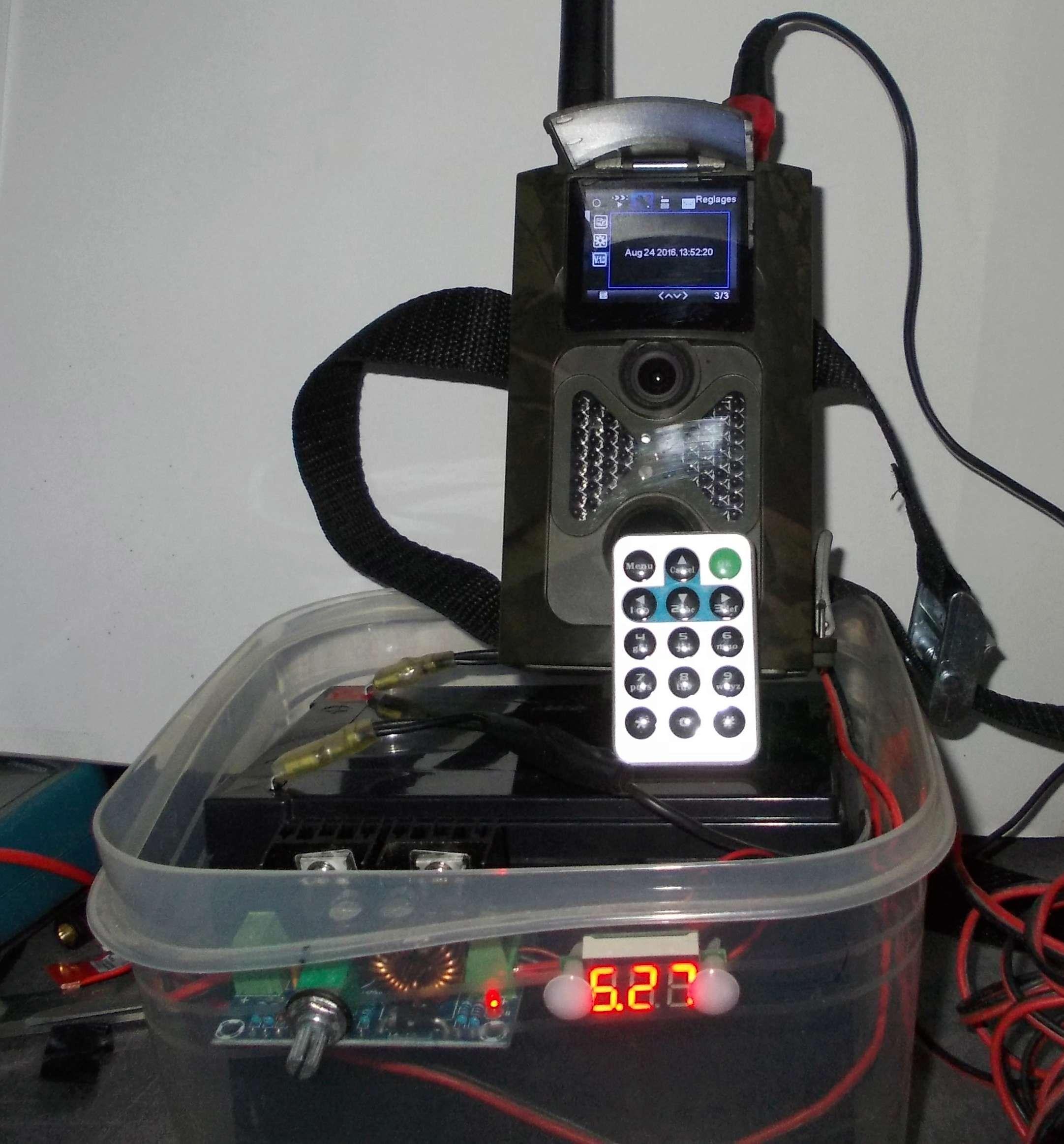 Suntek HC-550G - retex Alim210