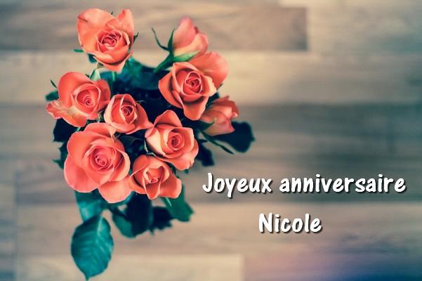 joyeux anniversaire Nicole Nicole10