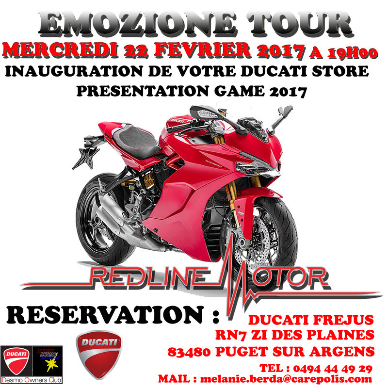 inauguration redline motor Emozio10