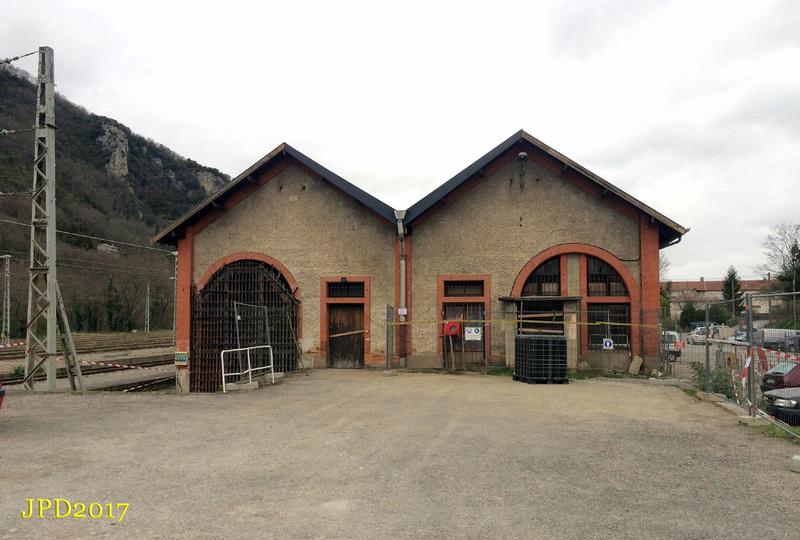 Pk 082,2 : Gare de Foix (09) - 2017 : Chantier devant ! Cf_20114