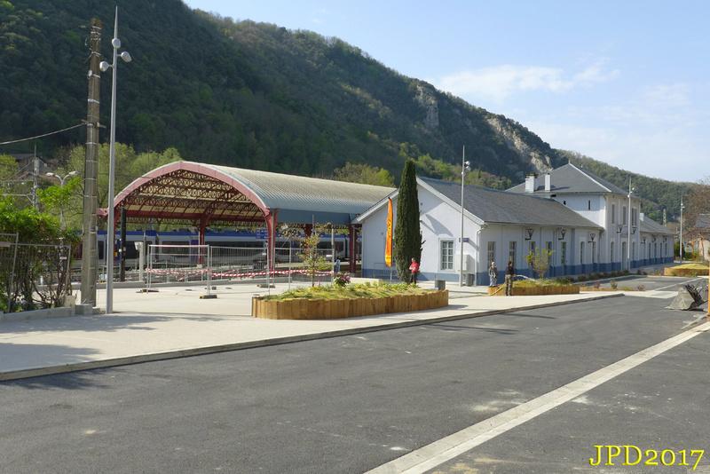 Pk 082,2 : Gare de Foix (09) - 2017 : Chantier devant ! Foix_112