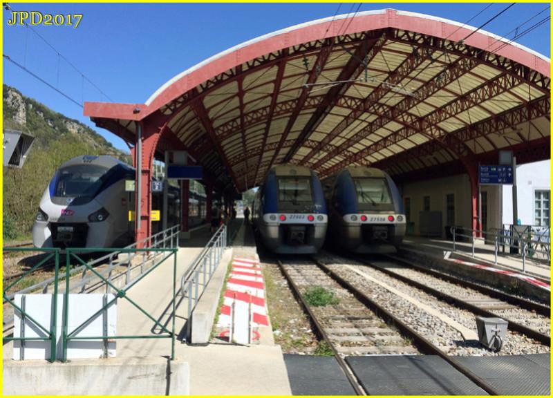 Pk 082,2 : Gare de Foix (09) - 2017 : Chantier devant ! Foix_210